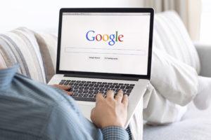 Fond on google