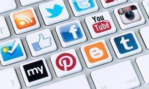 A social media logos
